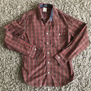 Lucky Long Sleeve Button Down - Plaid - Men's Med
